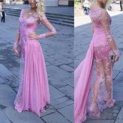 Prom Dress,2017 New V-Neck Prom Dre..