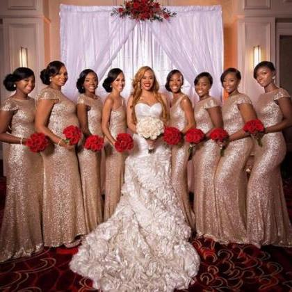 2018 Plus Size Mermaid Bridesmaid D..