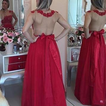 Prom Dress, Burgundy Prom Dresses, ..