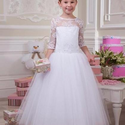 Flower girl dress, pretty flower gi..