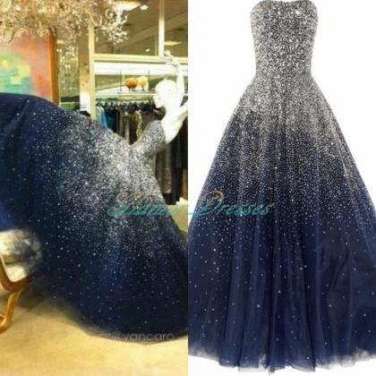 Prom Dress,Prom Dresses,Sparkling P..