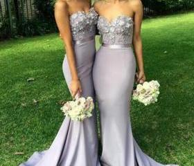 Mermaid Bridesmaids ..