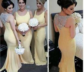 Yellow Bridesmaid Dr..