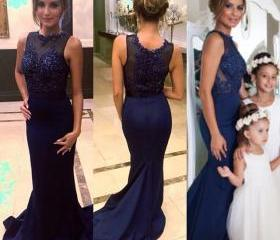 Navy Blue Bridesmiad..