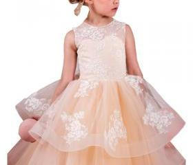 Flower girl dress,ch..