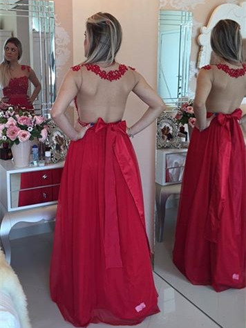 Prom Dress, Burgundy Prom Dresses, Mint Green Prom Gowns, New Arrival Sexy Prom Dress,Cap Sleeves Floor Length Long Party Dress with Pearls Sheer Back