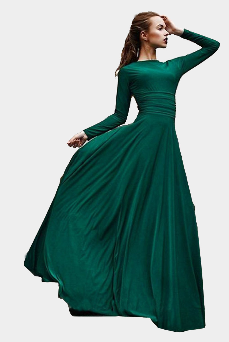 Dark Green Evening Dresses,2017 New Women\'s Stylish Evening Prom ...