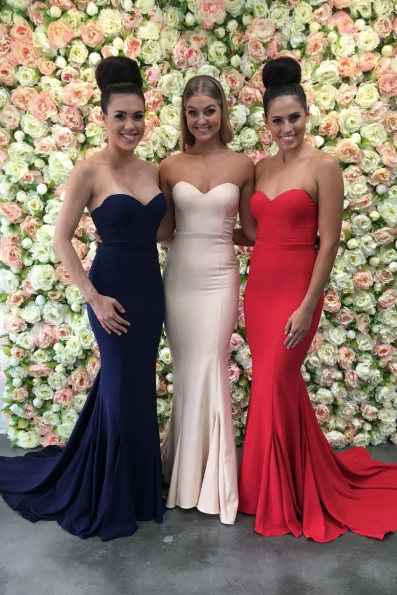Spandex Bridesmaid Dresses 2018 Mermaid Red Blue Ivory Sweetheart Bridesmaid Dress Wedding Party Dresses