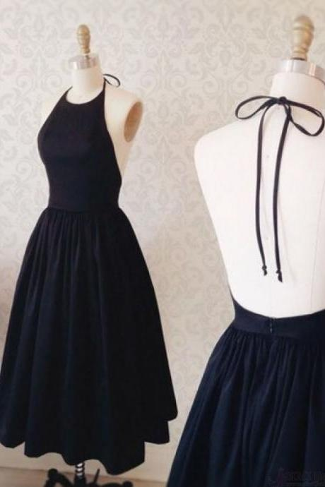 Prom Dresses, Chiffon Prom Dress,Halter Neck Short Evening Dress , Homecoming Dresses,Prom Dresses