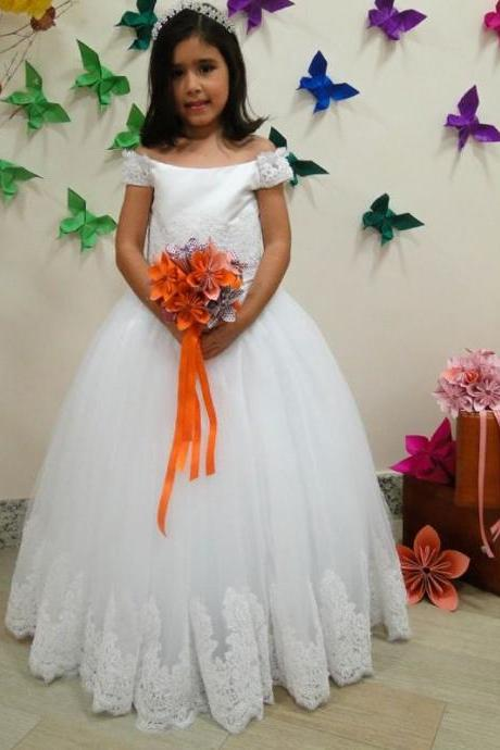 Ball Gown Flower Girl on Luulla