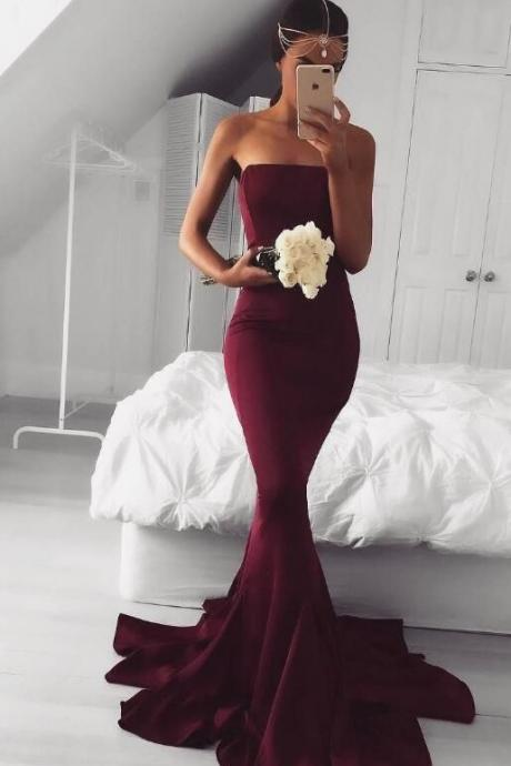 2017 Burgundy Long Prom Dresses Floor Length Tulle Dresses Formal Party Dresses Elegant A Line Vestido De Festa ballkleider ,Burgundy Prom Dress,Burgundy Prom Dress,Fashion Prom Dress,Sexy Party Dress,Custom Made Evening Dress,Long Prom Dress,Prom Dress