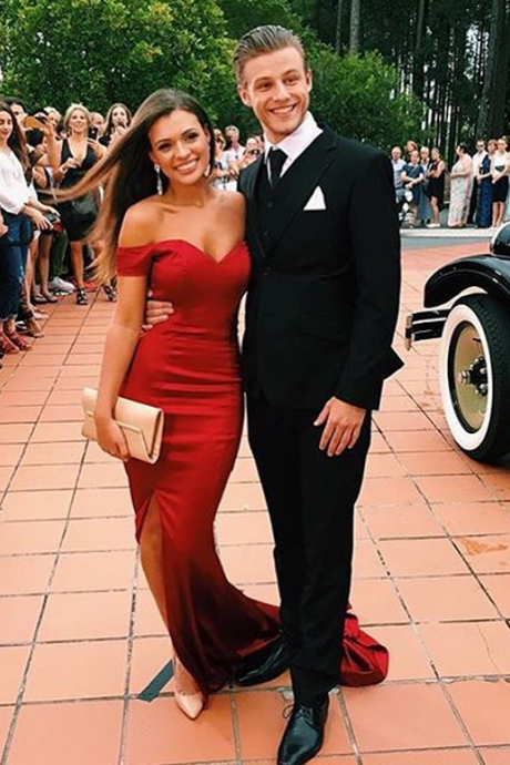 Sexy Burgundy Prom Dress Backless Long Sheath Side Slit Party Dresses,Prom Dresses,Mermaid Prom Dress,Sexy Prom Gown,Long Prom Gown,Backless Evening Dress,Open Backs Evening Gowns