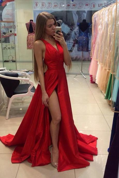 Red Prom Dresses,Evening Dress,Prom Dress,Backless Prom Dresses,Charming Prom Gown,Cheap Prom Dress,Open Back Evening Gowns for Teens