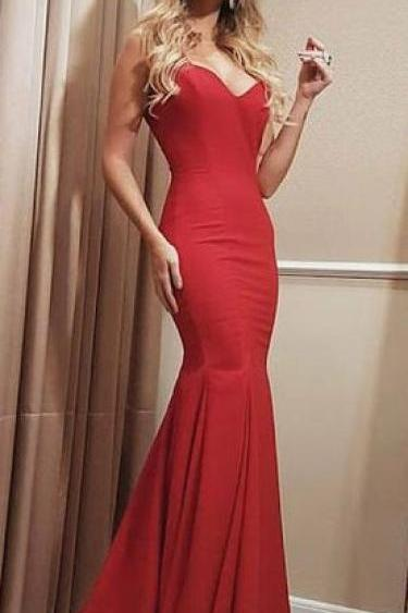 Prom Dresses, Prom Dress, Sexy Prom Dresses,Red Prom Dress,Backless Evening Gown,Long Formal Dress,Elegant Prom Gowns,Open Backs Night Club Dresses