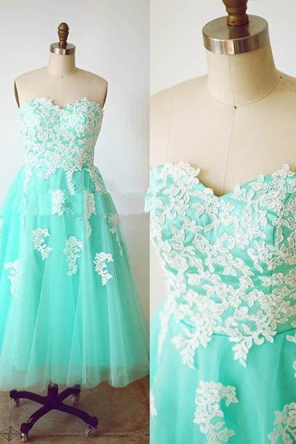 Homecoming Dresses, Mint Green Homecoming Dress,Short Bridesmaid Dresses, Short Party Dresses, Cocktail Dress, Short Prom Dresses, Tea Length Homecoming Dresses, Lace Party Dresses, Sleeveless Party Dress,Junior Party Dresses,Prom Dress