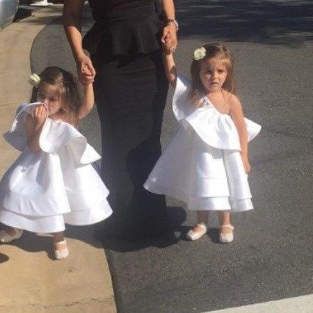 Fluffy Ruched Flower Girl Dresses,White Flower Girl Dresses, Flower Girl Dresses, Long Girls First Communion Dresses, Custom Made Girl Dress for Girl 2-14